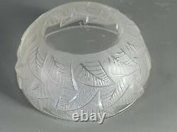 A. Lalique Coupe Art-deco Glass Signed. Very Good Condition