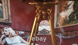 Art Deco Art Nouveau Moulded Glass Suspension Signed Degué