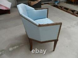 Art Deco Chair Signed Leleu