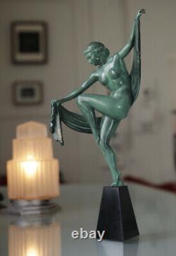 Art Deco Sculpture By Edel