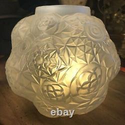 Art Deco Vase Model Dalhia Signed André Hunebelle France