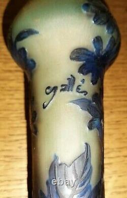 Art Deco Vase Signed Gallé Tip