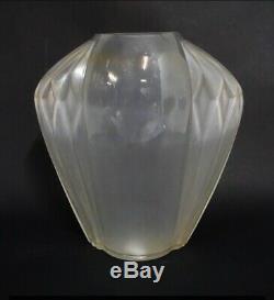 Art Deco Vase Signed Model Amphore André Hunebelle France