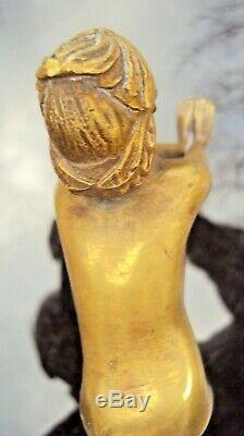 Beautiful Art Deco Bronze Dance Zelikson Serge (1890-1966)