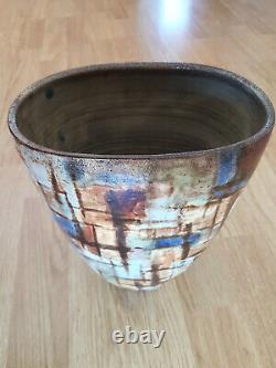 Beautiful Vase Vallauris Signed Alexandre Kostanda Art Deco Ancient