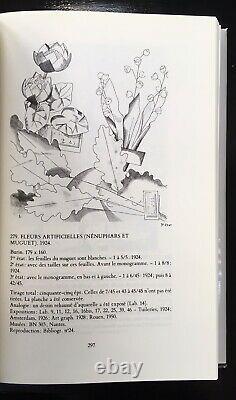 Burning Artificial Flowers Lilies And Muguet Jean Emile Laboureur 1924 5/45