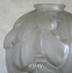 Carrillo, Very Beautiful Vase Art Deco Signed Carrillo, Art Deco