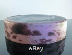 Center Of Cup Table Pte From Blown Glass Art Deco Lorraine Daum Sign