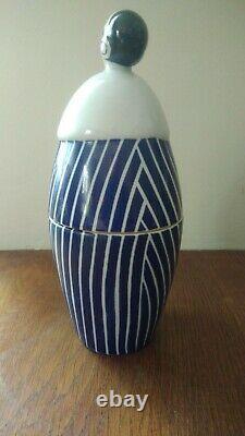 Ceramics Signed Robj Art Deco Candy Box