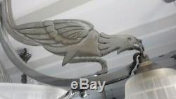 Chandelier Art Deco Sign Hanots Lamp French Wall Lamp Degue Muller Daum