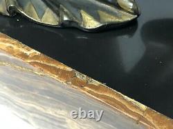 Chiparus Regule Art Deco Dancer Assise Base Marble Sign R Lullier Z368