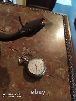 Clipboard Wrought Iron Gate Watch Signed