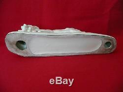 Cracked Glazed Ceramic Art Deco In 1930 Signed G. Gillot Earthenware Fox Odyv