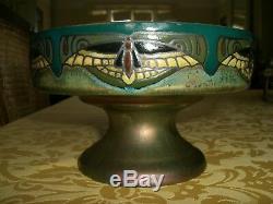 Cup Vase Art Deco Signed Montieres