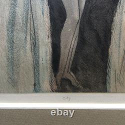 Édouard Chimot L'invitation Eau-forte Monogrammée Au Crayon C. 1930