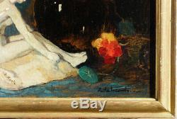 Emile Lecomte, 1927, Flowers And Ceramics Art Deco Bénézit, Grosse Cote