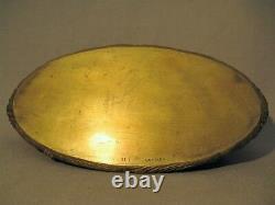 Empty Bronze Pocket Signed Delaherche Late XIX Beginning XX Century