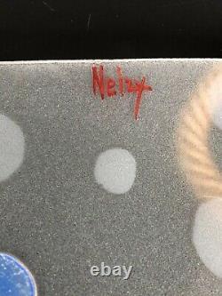 Former Suspension Art Deco Signed Nelzy Genre Loys Lucha Glass