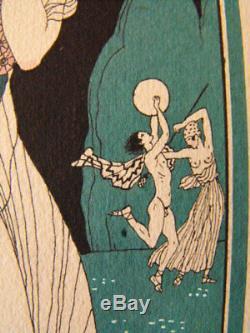 George Barbier Proserpine 1929 Artists Of The Book Art Deco