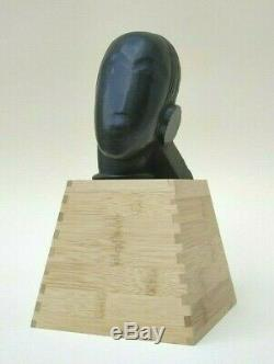 Head Girl By Gustave Miklos Art Deco-cubism 1930