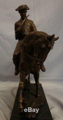 Horse Statue Jack Hunt Animal Style Art Deco Bronze Massive Sign