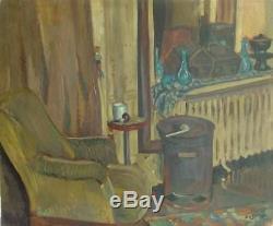 Jean Dorville (1902-1985) Hsp From 1945 / Paris School Art Deco Nabi Fauvism