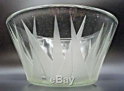 Jean Luce Cup Deco-engraved Art Sandblast-signed-daum, Muller, Thuret, Argy