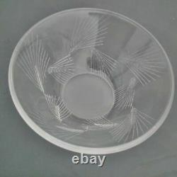 Lalique Cut Signed Arras Model Very Nice Condition Cut Ears Of Wheat