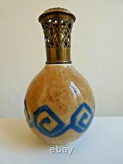 Lamp Berger En Porcelaine Signee Tharaud Limoges Epoque Art Deco 1930/40