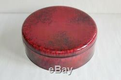 Large Box Art Deco Ceramic Signed Paul Millet Sevres Diameter 20.5 CM