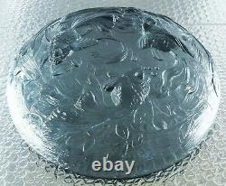 Large Cup Glass Mould Japanese Fish Era Sabino Art Deco Verlys Sign