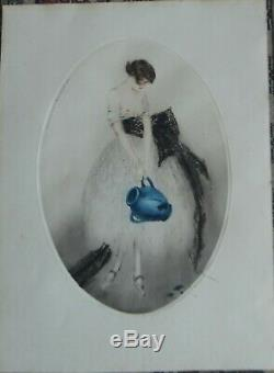 Louis Icart Etching And Aquatint 1924 Superb Signed