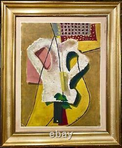 Louis Latapie 1891-1972, Modernist Work Of 1939, Cubism-surrealism Art Deco