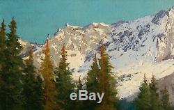 Lucien Quenard, Table, Mountain, Meije, Alps Landscape, Oisans, Ecrins, Isere