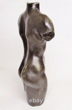 Naked Man Torso, Art House Deco Statue