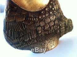 Old Bronze Sculpture By Jarc