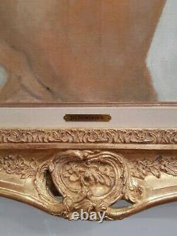 Painting Jean Gabriel Domergue, (1889 1962) The Parisian Pin-up