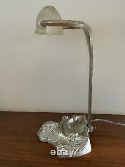 Paris Star Silver Art Deco Pressed Glass Cast Schneider Style Glass