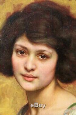 Paul Sieffert, Woman, Picture, Portrait, Art Deco, Eroticism, Naked Woman