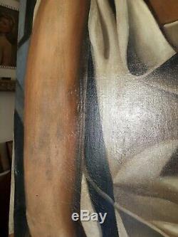 Portrait 1940 Signed De Lempicka