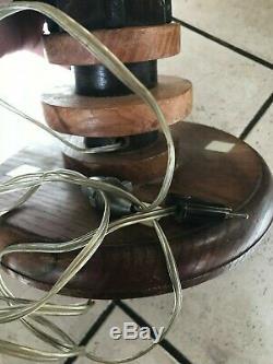 Rare Foot Modernist Lamp J J Adnet. Sign. Era Arbus, Franck