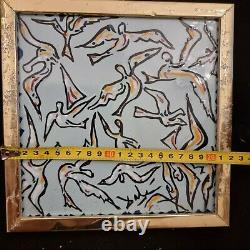 Salvador Dali La Nuit Des Oiseaux, 1954, Original Ceramic Signed