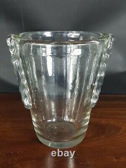 Schneider Vase Signed Art Deco Tb State Vg Condition
