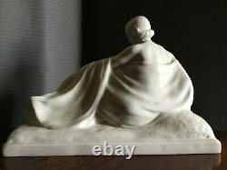 Sculpture Femme Art Deco Signed On The Base René-abel Philippe (1898-1978)