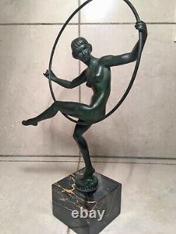 Statue Art Deco Max Le Verrier Briand (marcel Bouraine)