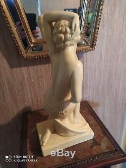 Statue Art Deco Signed Pacini