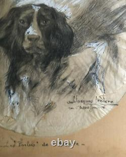The Hairy Back, Drawing Enhanced By Julien-jacques Leclerc (1885-1972)