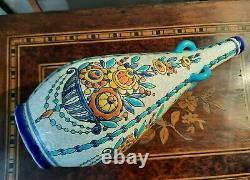 Vase Keramis Signs CC For Charles Catteau Flower Decoration Belgium Art Deco 151a