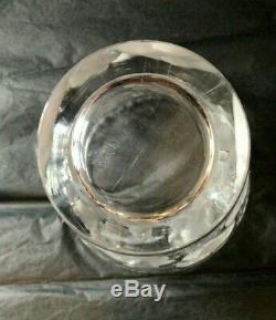 Vase Ondines Art Deco Crystal Signed Lalique France 24 CM