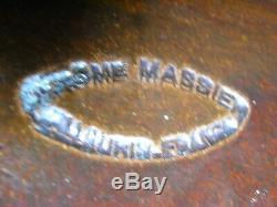 Ancien Rare Grand Porte Parapluie Canne Ceramique Signe Jerome Massier Vallauris